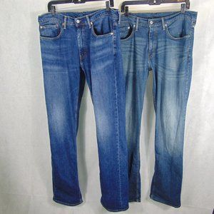 Levi's Tall Man 559 Relaxed Straight Jeans sz 34